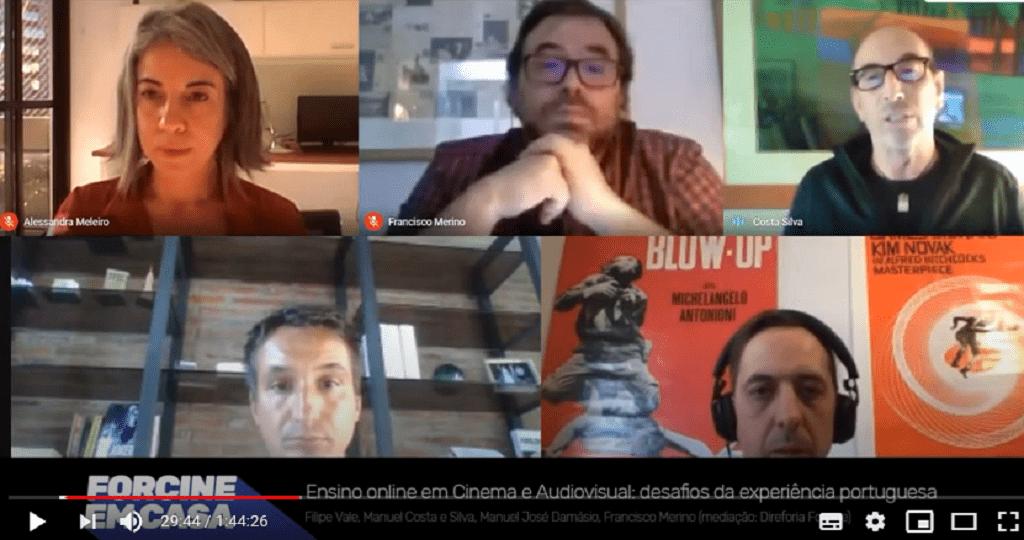 Webinar debate ensino online em Portugal
