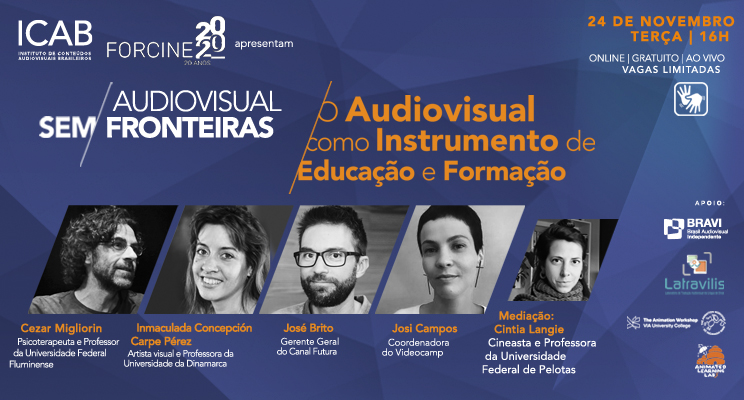 3ª Conferência do Ciclo Audiovisual Sem Fronteiras