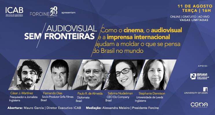 1a. Conferência do Ciclo: Como o audiovisual ajuda a moldar o que se pensa do Brasil no mundo
