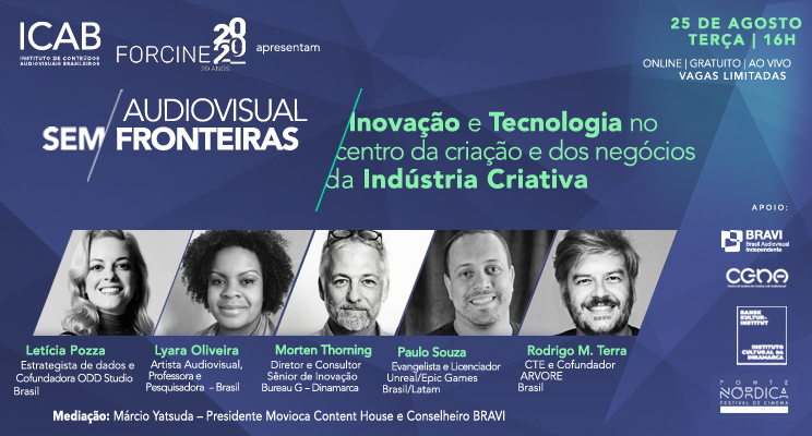 2º Conferência do Ciclo: Inovação e Tecnologia no Centro da Criação e dos Negócios da Indústria Criativa