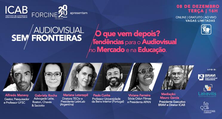 4a. Conferência do Ciclo: Tendências para o Audiovisual no Mercado e na Educação