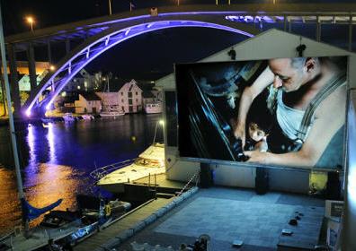 Exibição digital na Noruega